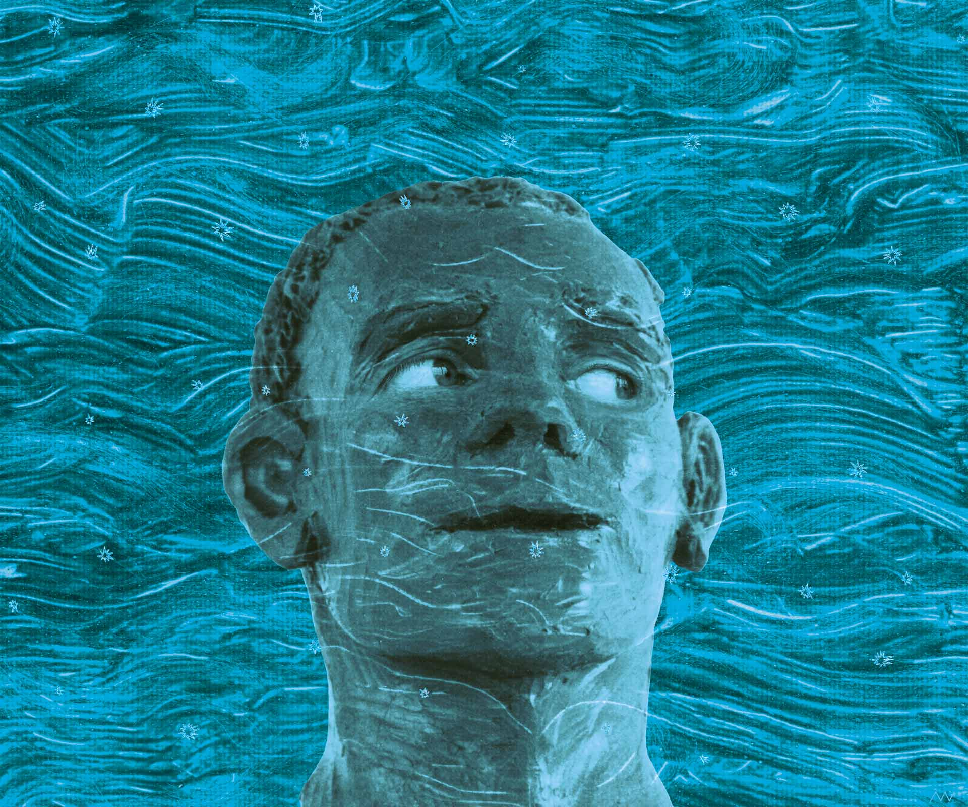 Sea Monkeys; 2004; original digital art